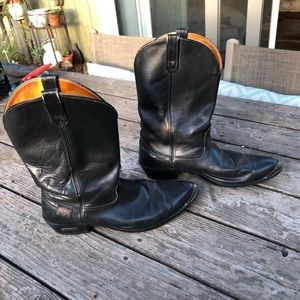 Harley cowboy boots
